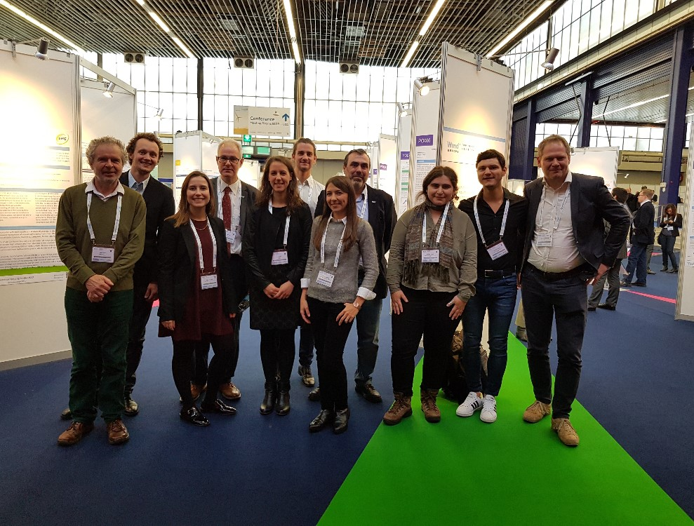 Estefanía Artigao participates in the international conference WindEurope